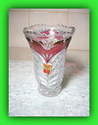 Vintage Anna Hutte' Bleikristall Vase 24% Lead Crystal-Made in Germany!