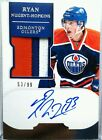 wOw! 99 RYAN NUGENT HOPKINS ROOKIE JERSEY 3CLRS PATCH AUTO 2011 11 12 DOMINION