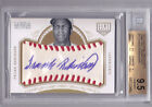 2012 National Treasures Frank Robinson Game Ball AUTO 5 BGS 9.5 Awesome!