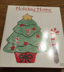 FITZ AND FLOYD HOLIDAY HOME SNACK PLATE & SPREADER  Christmas  Tree