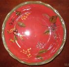 Tracy Porter Octavia Hill Collection Garden Red Soup Bowl