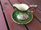 KLM Staffordshire England Water Jug and Basin