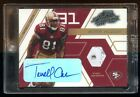 TERRELL OWENS 2003 ABSOLUTE BOSS HOGGS AUTO GAME WORN SHOE #D 125 SUPER RARE