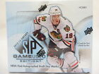 2012-13 UD SP GAME USED HOCKEY HOBBY SEALED BOX