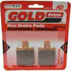 Sintered Goldfren Brake Pads For Keeway Hacker 50 Front RH 2008-2010