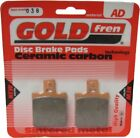 Sintered Goldfren Brake Pads For Keeway Hacker 125 Front RH 2008-2010