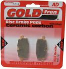 Sintered Goldfren Brake Pads For Adly Cat 50 Front RH 1997-2001