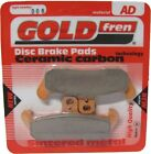 Sintered Goldfren Brake Pads For Moto Morini New York 501 Front RH 1989-1991