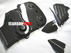 DUCATI 749 999 CARBON FIBER HEEL GUARDS BELT COVER & SPROCKET KIT