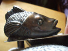 Vintage 1940's Sheridan Silverplated Shell  Scallop Koi Fish 3 Footed 16