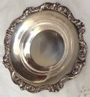 Vintage EPCA OLD ENGLISH CANDY Serving Dish  SILVER BOWL 6