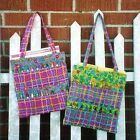 Machine Quilting Project~Large Coloring Book and Crayon Tote for Children~Sale