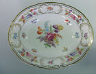 SCHUMANN EMPRESS DRESDEN FLOWERS SERVING BOWL 9-1/2