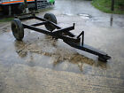 Agricultural trailer chassisEx 3 ton tipper ideal project