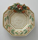 Fitz & Floyd Christmas Canape/Wall Hanging Plate Winter Wonderland