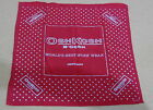 Vintage OshKosh B'Gosh Red Bandana Handkerchief Union Made Polka Dot USA Cotton
