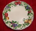 SAKURA By ONEIDA SONOMA EXCELL Round Chop Plate Serving Platter Fruit Grapes EUC