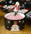 Certified International HOLIDAY SANTA DIP BOWL & SPREADER STEPHANIE STOUFFER