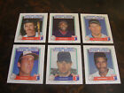 1988 Starting Lineup Talking Baseball---Stars Only---Lot Of 6---No Dupes