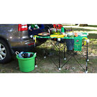CENTIPEDE STEEL FRAME PORTABLE TABLE HOLD 1500lbs OUTDOOR TAILGATE CAMP TRAVEL