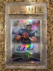 Andrew Luck 2012 Topps Chrome Refractor Variation SP Auto RC BGS Gem Mt 9.5 10