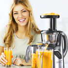 NEW COMMERCIAL SLOW JUICER MACHINE MASTICATING COLD PRESS FRUIT VEGETABLE H