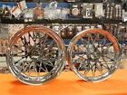 2001-2004 SUZUKI GSXR1000 CHROME 240 BANDIT WHEELS WITH HUBS