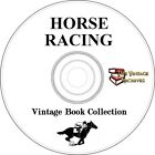 Horse Racing Vintage Book Collection on CD Kentucky Derby