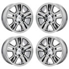 17 LEXUS GX470 PVD CHROME WHEELS RIMS FACTORY ORIGINAL OEM SET 74167 EXCHANGE