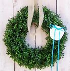Spring Summer Wreath Beach Cottage Coastal SAND DOLLAR BOXWOOD DOOR WREATH DECOR
