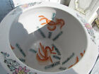 Antique Vintage Porcelain Japanese Koi Fish Bowl Chinese Gold Fish Large Planter