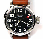 New Zenith Pilot Montre d'Aeronef Type 20 GMT 03.2430.693 Box Papers 48mm