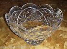 Waterford Crystal Cullen Large Scalloped Centerpiece Crystal Footed Bowl (NEW)
