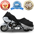 Motorcycle Bike Cover Travel Dust Cover For Yamaha Road Star Silverado Midnight