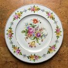 Antique KP Dresden Floral Wall Plate Charger, 19th Century Hand Painted 15 Inch