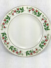 GIBSON Everyday China Christmas Charm Holly Berries 7.5