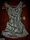 1940's Lucy Larcom Bias Cut Lingerie Liquid Satin Silky Negligee Nightgown 32