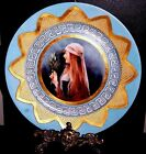 Antique french hand painted porcelain plate