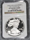 COMPLETE SET OF PROOF SILVER EAGLES 1986 2015 NGC PF70UC EXCEPT 1995W PF69UC