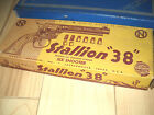 BOX ONLY STALLION 38 NICOLS SIX SHOOTER CAP PISTOL TOY STOCK 38 BOX ONLY