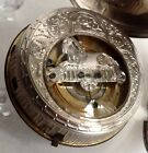 Antique Rare French silver verge fusee pocket watch