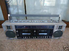 SANYO M-W25L (1983) VINTAGE BOOMBOX! WORKS ONLY ON RADIO!