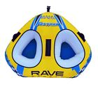 NEW Rave Sports 02648 Fastrax Inflatable Two Rider Towable Water Tube