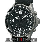 Sinn Diver Chronograph Stainless Steel 43mm Black Dial Automatic 757