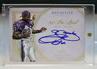 2015 Topps Definitive Emmitt Smith Autograph 8x Pro Bowl #10 10 Cowboys Nice!