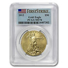 2012 1 oz Gold American Eagle Coin MS 70 First Strike PCGS
