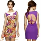 Ladies Hippy Costume 60s 70s Psychedelic Flower Peace Hippie Fancy Dress Outfit