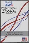 27x40 Poster Frame w Plexi Glass and Corrugated Backing Available in 4 Colors