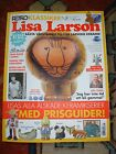 New Lisa Larsson magazine 132 pages value guide vintage retro midcentury Sweden