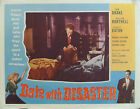 Date with Disaster | Starring Shirley Eaton - Original 1957 Movie Lobby Card